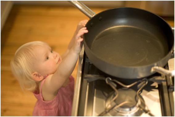 Child safety in kitchen